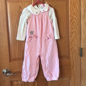 Toddler 2 piece romper